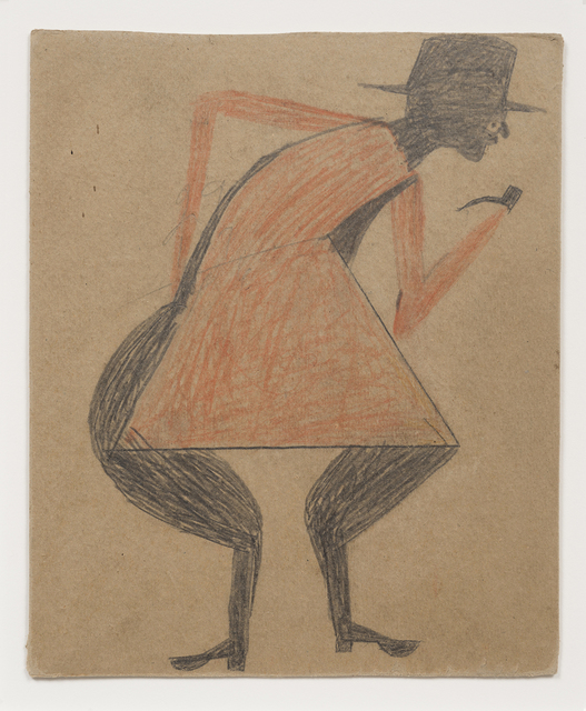 , 'Red Man with Pipe,' 1939-1942, Hirschl & Adler