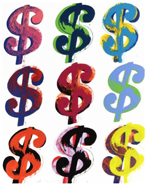 Andy Warhol, '$9', 1982, HG Contemporary