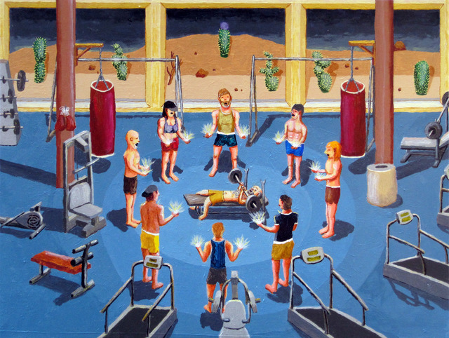 , 'Gym Witchcraft,' 2011, Upfor
