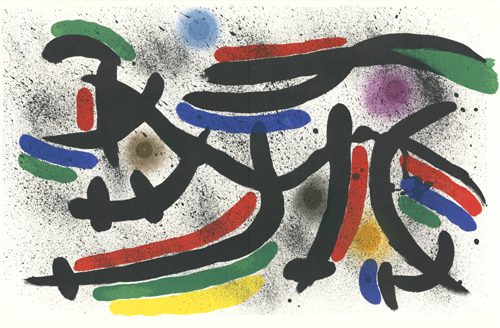Joan Miró, 'untitled', 1972, Sylvan Cole Gallery