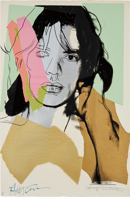 Andy Warhol, 'Mick Jagger', 1975, Phillips