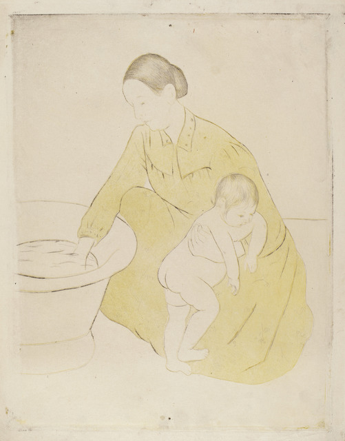 Mary Cassatt, 'The Bath', ca. 1891, National Gallery of Art, Washington, D.C.