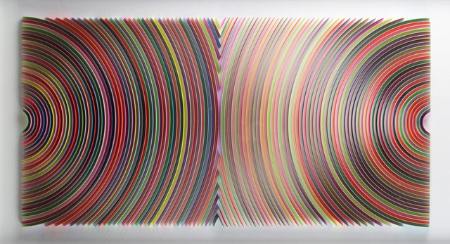 , 'Colliding Discs,' 2019, Gormleys Fine Art