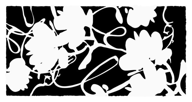 Donald Sultan, 'Lantern Flowers, Feb 16, 2012', 2012, Meyerovich Gallery