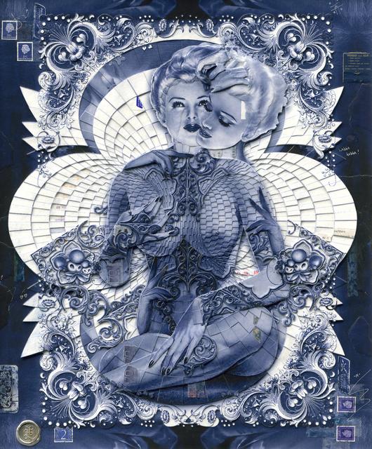 , 'Torus in Blue,' 2019, Dorothy Circus Gallery