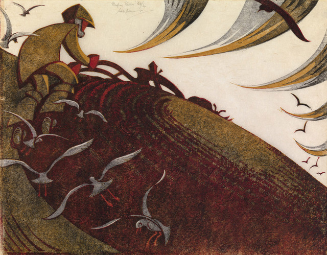 , 'Ploughing Pasture,' 1955, Redfern Gallery Ltd.