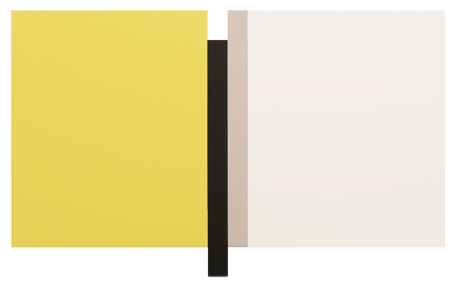 , 'Sunyata - Yellow, White, Black, Canvas,' 2016, Peter Blake Gallery