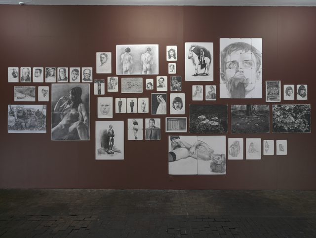 , 'Spare Time - Installation of drawings ,' 2005-2006, Wilkinson