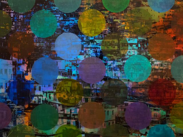 Sarah Nind, 'Pistes et Points - Carnival 2', 2015, Newzones