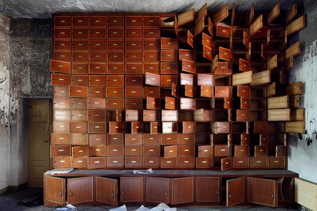 , 'The Unburnt Library,' 2013, Galerie Dumonteil