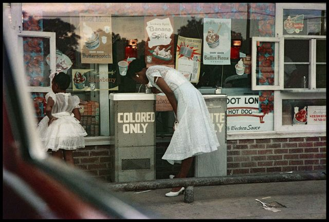 , 'Drinking Fountains, Mobile, Alabama,' 1956, Rhona Hoffman Gallery