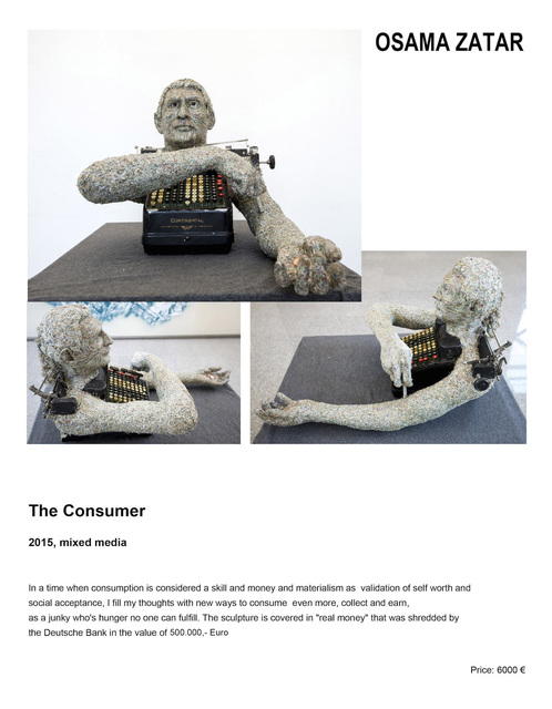 , 'The Consumer,' 2015, Artemons Contemporary