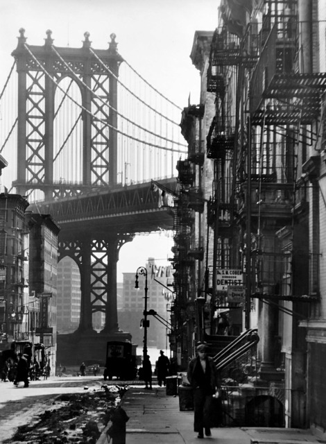""", 'Pike and Henry Streets (from the series """"Changing New York""""),' 1936, Bookstein Projects"""
