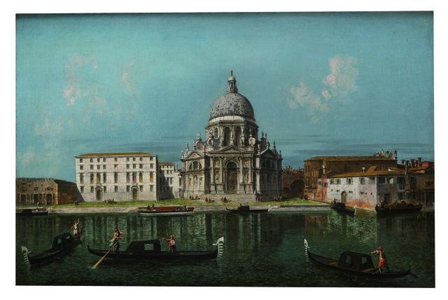 , 'Santa Maria della Salute, Venice, View from the Grand Canal,' 1739-1740, Museo Soumaya
