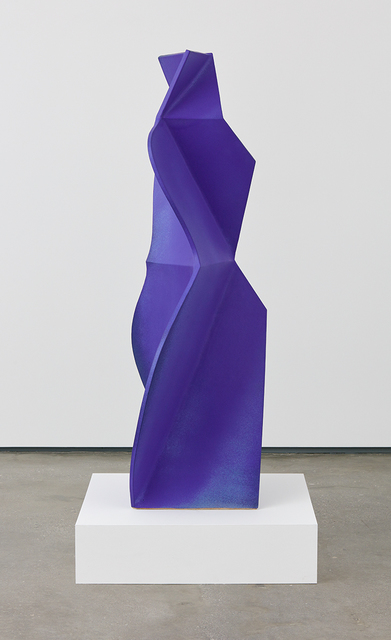 , 'Figure Dark Blue,' 2015, David Kordansky Gallery
