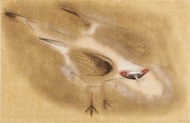 Morris Graves, 'Spirit Bird', 1954, Phillips