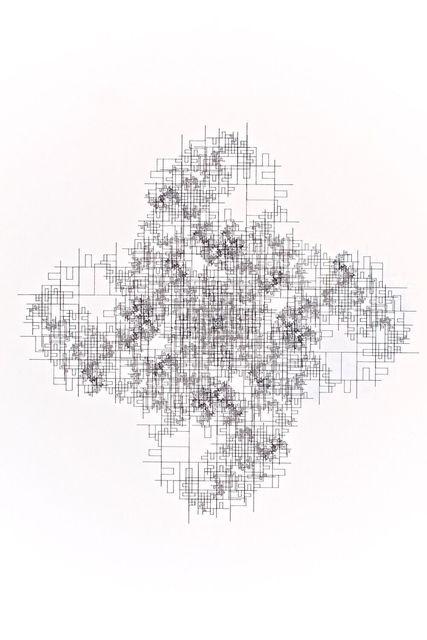 Jean-Pierre Hebert, 'Divertissement 15, noir', 1976-1977, RCM Galerie