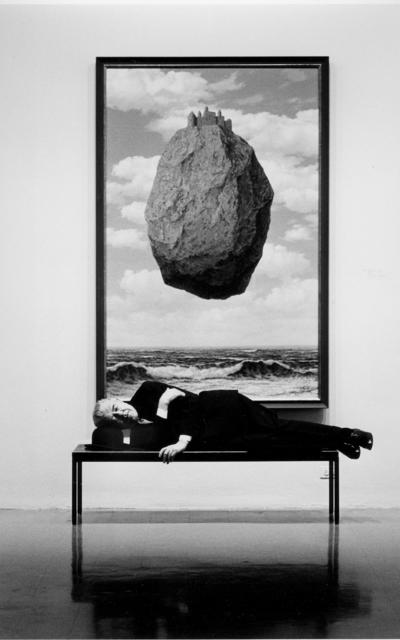 , 'René Magritte sleeping at MOMA,' 1965, Atlas Gallery