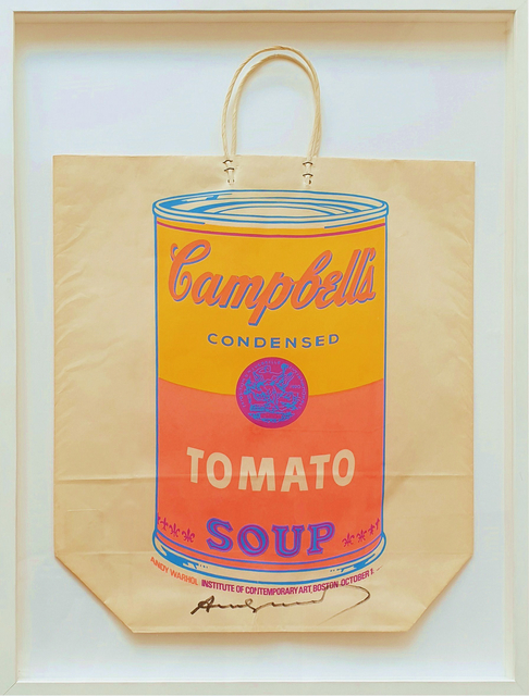 Andy Warhol, 'Campbell's Soup Can (Tomato)', 1966, Tanya Baxter Contemporary