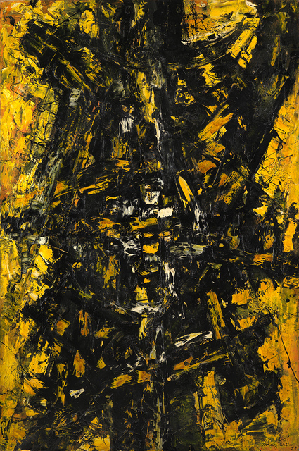 , 'Configuration in Yellow and Black,' 1959, Whitford Fine Art