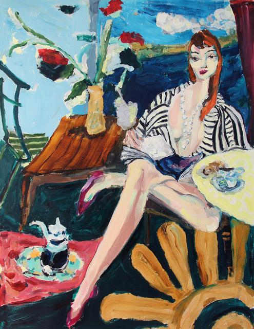 , 'Teatime Perch,' 2017, Sim Smith