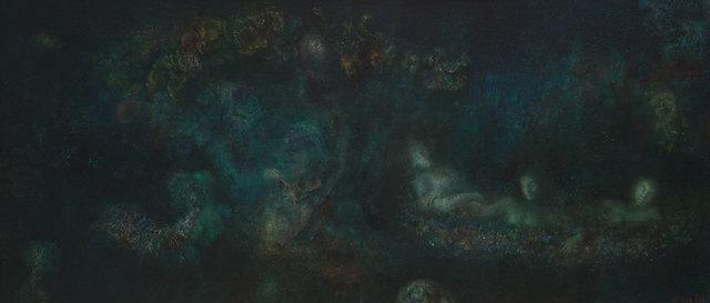, 'L'abreuvoir de nuit/ Le songes d'une nuit d'ete,' 1963, Weinstein Gallery