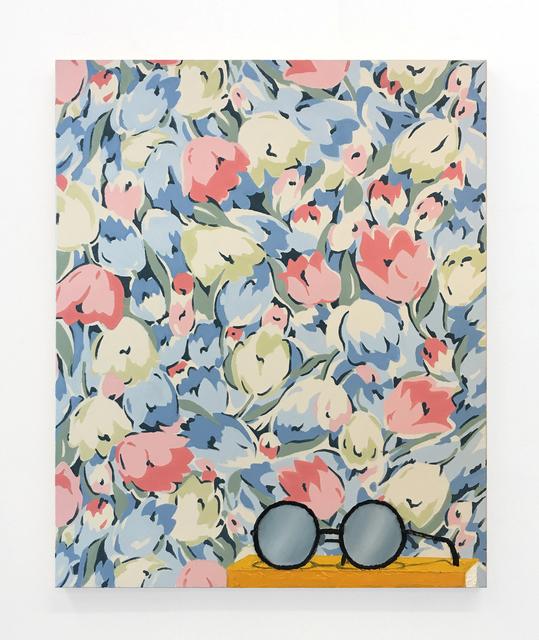 , 'Glasses on book,' 2018, Anat Ebgi