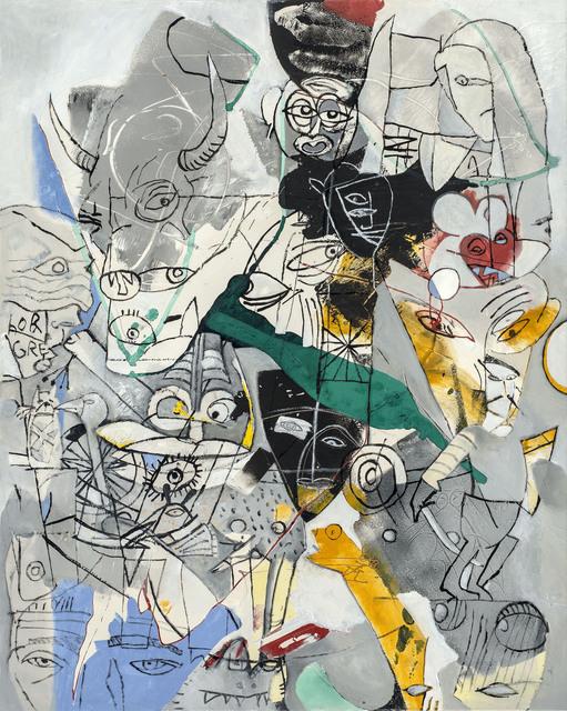 , 'TAROT, der Teufel,' 2003, GALERIE BENJAMIN ECK
