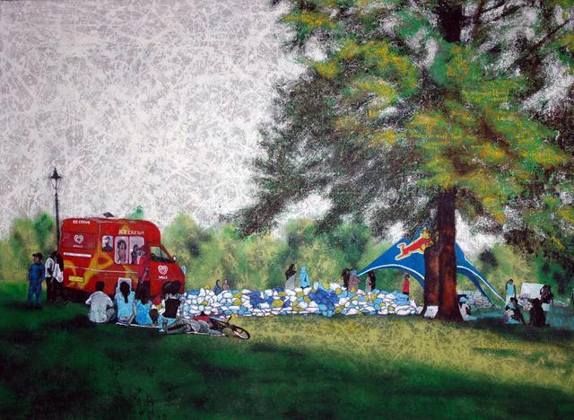 , 'Landscape Redux; NO-nVOID/3: Amalgam of Rubbish (Park Life),' 2005, Abe+Okuta