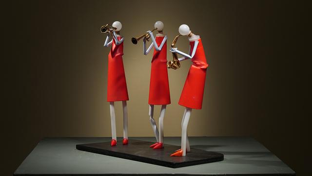 , 'Brassy Ladies,' 2018, International Sculpture Center