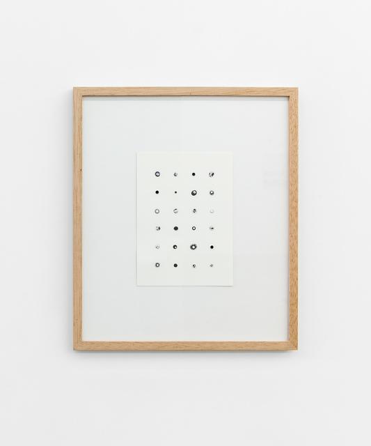 , 'FORMULAS I,' 2015, Tatjana Pieters
