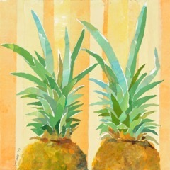, 'Two Yellow Pineapples,' 2019, Tiffany's Art Agency