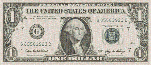 , 'One Dollar Bill,' 2010, Tangent Contemporary Art