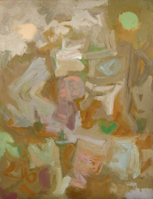 Yvonne Thomas, 'Untitled', 1956, Painting, Oil on canvas, Berry Campbell Gallery
