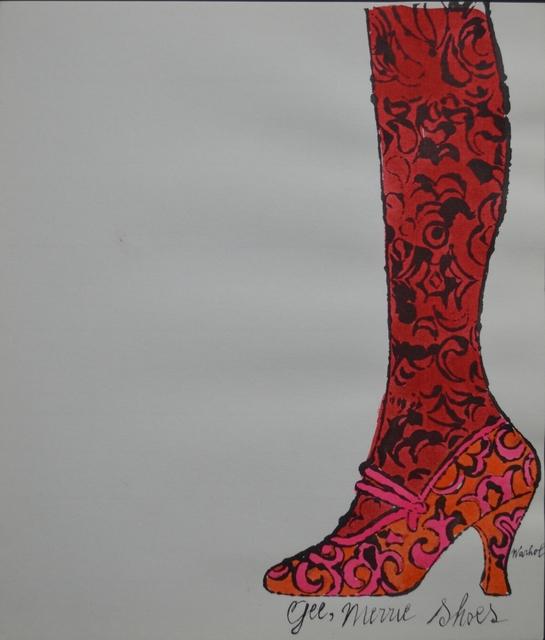 Andy Warhol, 'Gee Merrie Shoes', ca. 1955, Long-Sharp Gallery