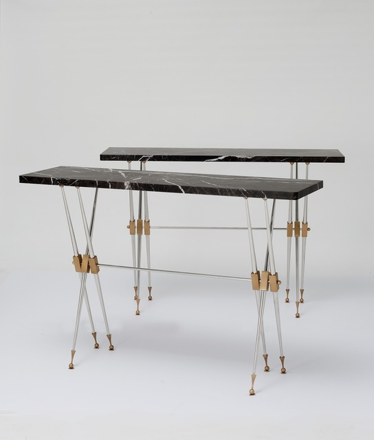 , 'Pair of Consoles,' ca. 1962, Maison Gerard