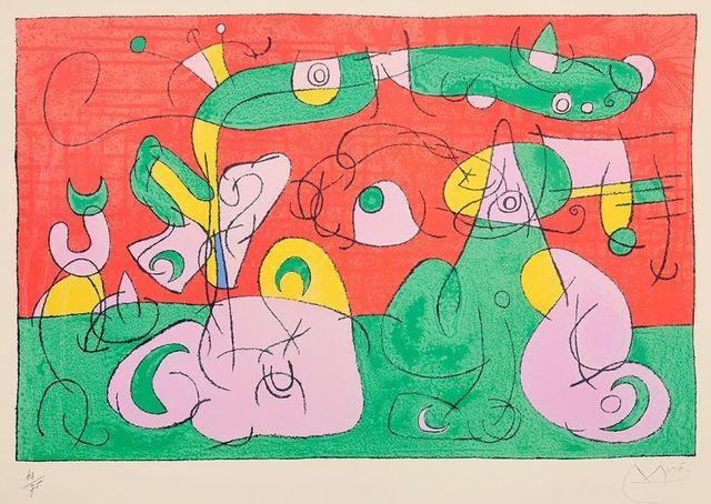 Joan Miró, 'Ubu Roi ', 1944, Le Coin des Arts