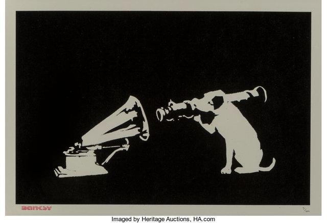 Banksy, 'HMV', 2018, Heritage Auctions
