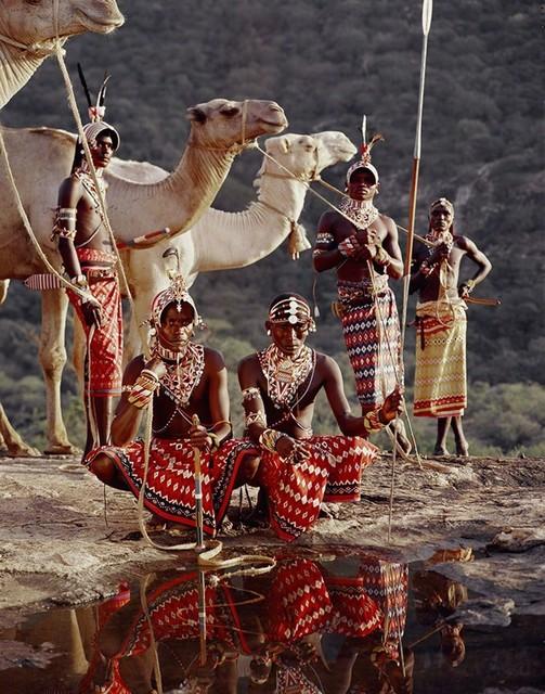 , 'XVII 220 Lelesas, Louelen, Lewangu, Lepokodou, Loingu & Nyerere Ndoto Mountain Range Kenya - Samburu, Kenya, 2010,' 2010, Werkhallen // Obermann // Burkhard
