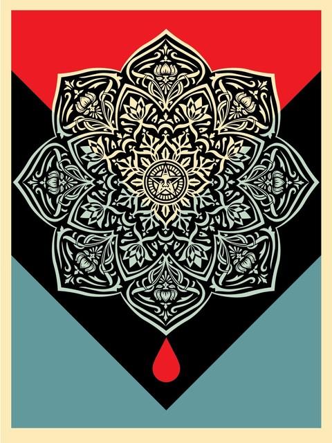 Shepard Fairey, 'Blood Mandala', 2017, AYNAC Gallery