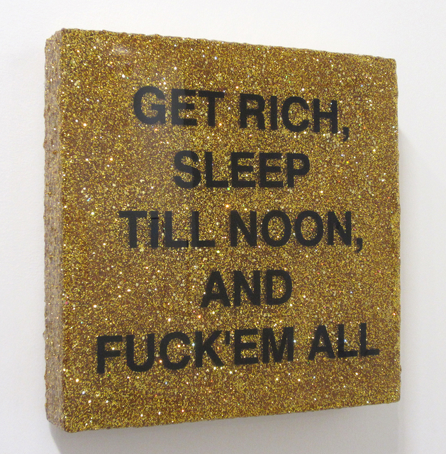 , 'Sleep till Noon (Gold),' 2017, Bruno David Gallery & Bruno David Projects