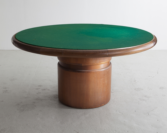 , 'Round Game Table ,' 1988, R & Company