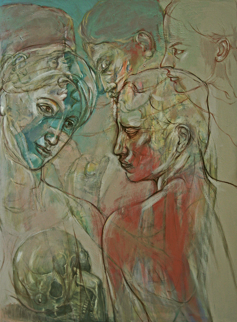 , 'Orestie (Memento Mori),' 2018, Accesso Galleria