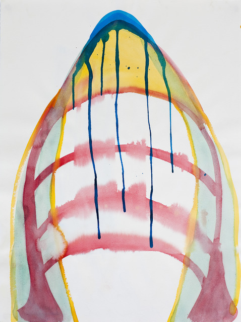 Renata Egreja, 'Volcano', 2010, Drawing, Collage or other Work on Paper, Watercolor on paper, Zipper Galeria
