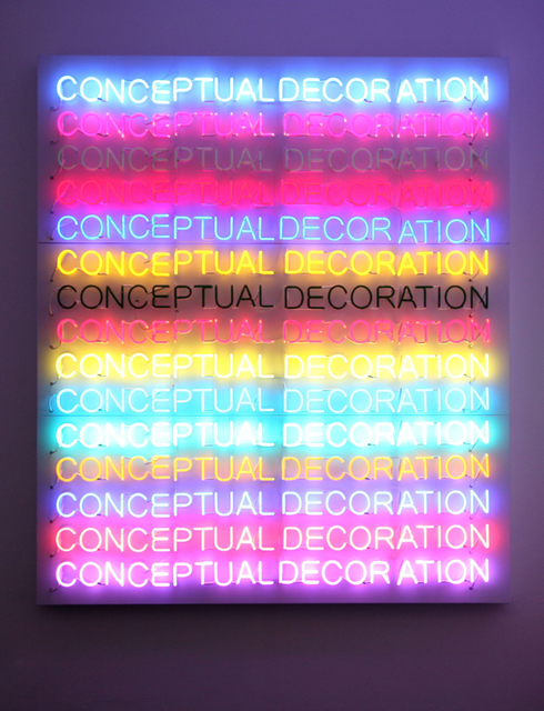 , 'Conceptual Decoration,' 2011, Parra & Romero