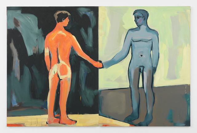 , 'Man in the Mirror,' 1986, Johannes Vogt Gallery
