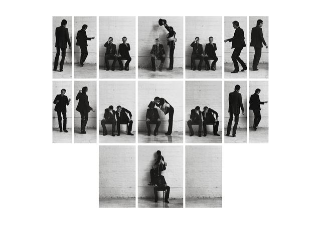 , 'Zeit schinden,' 1980-1981, Galerie Elisabeth & Klaus Thoman