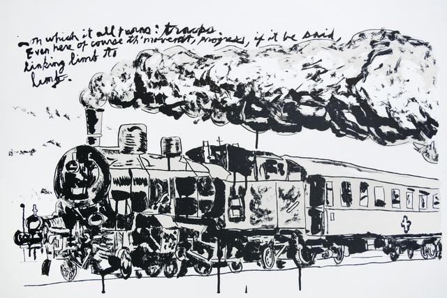 , 'Untitled (Train),' 2018, Brooke Alexander, Inc.