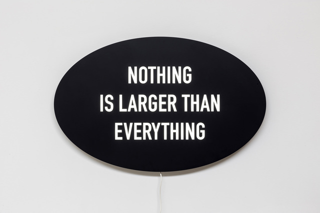 , 'Nothing is Larger Than Everything,' 2014, Diaz Contemporary