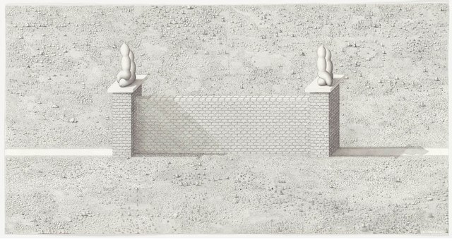, 'A Wall is a Path,' 2011, Gagosian Gallery